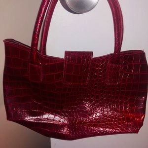 Handbags - Red handbag / purse
